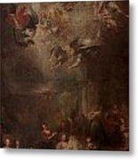 Nativity Of Mary Metal Print by Andrea Celesti