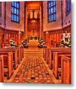 Nativity Of Our Lord Church Metal Print