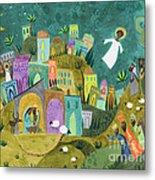 Nativity Three Metal Print
