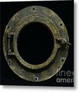 Natuical - Brass Porthole Metal Print