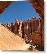 Natural Archway - Bryce Canyon Metal Print