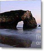 Natural Bridges State Park California Metal Print