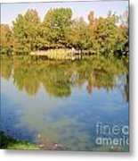 Natural Reflections Metal Print