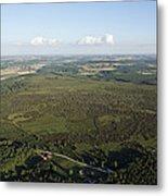 Natural Reserve Of Pinail, Vouneuil Sur Metal Print