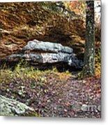 Natural Rock Bridge Metal Print