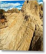 Natural Stone Pillar Metal Print