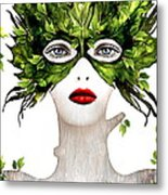 Natural Women Metal Print by Yosi Cupano
