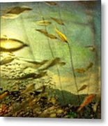 Nature #12. Strong Wind Metal Print