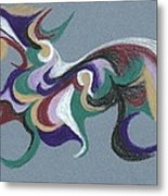 Nature Abstract 1 Metal Print by Helen John