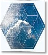 Nature And Geometry - The Clouds Metal Print