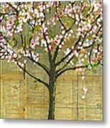 Nature Art Landscape - Lexicon Tree Metal Print