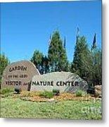 Nature Center Metal Print