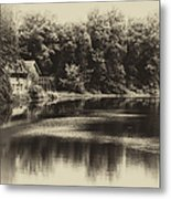 Nature Center Salt Creek In Heirloom Finish Metal Print