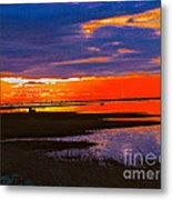 Nature Ends And Begins Metal Print by Q's House of Art ArtandFinePhotography