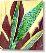 Nature Imitates Art Metal Print