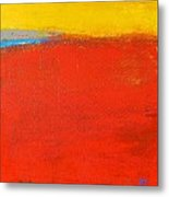 Nature Rouge Metal Print