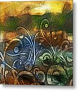 Natures Awakening Metal Print