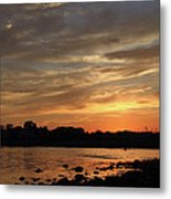 Nature's Created Colors Metal Print