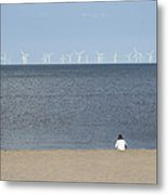 Natures Energy Metal Print