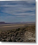 Natures Painted Desert Metal Print