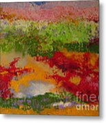 Nature's Palette Metal Print