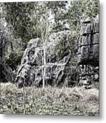 Nature's Statues  Metal Print