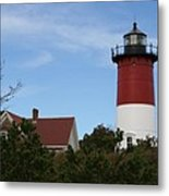 Nauset Beach Light Metal Print
