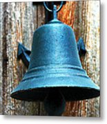 Nautical Bell Metal Print