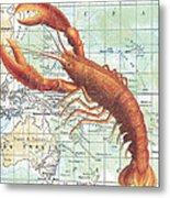 Nautical Journey-i Metal Print