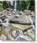 Nauyaca Waterfall Metal Print