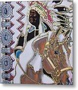 Navajo 02 Metal Print