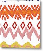 Southwest Pattern IIi Metal Print