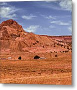 Navajo Nation Series Along Arizona Highways Metal Print