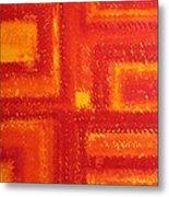 Navajo Rug Original Painting Metal Print