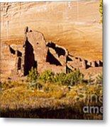 Navajo Ruins Metal Print