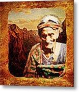 Navajo Triptych  Metal Print
