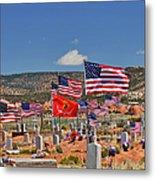 Navajo Veteran's Memorial Cemetery Tsehootsooi Metal Print