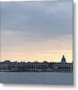 Naval Academy By Day Panorama Metal Print