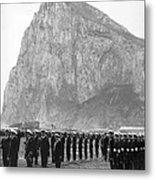 Naval Review At Gibraltar Metal Print