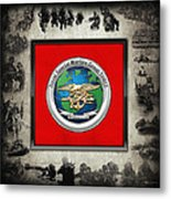 Naval Special Warfare Group Three - N S W G-3 - Over Navy S E A Ls Collage Metal Print