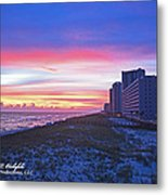 Navarre Beach Fl 2013 10 30 I Metal Print