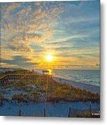 Navarre Beach Sunrise 2014 09 26 01 C 0650 Metal Print