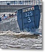 Navy Landing Craft 325 Metal Print