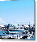 Navy Pier Chicago Il Looking Northeast Metal Print