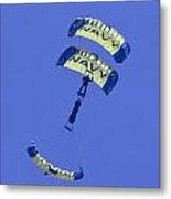 Navy Seals Leap Frogs One Upside Down Metal Print