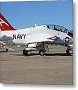 Navy T-45 Goshawk Metal Print