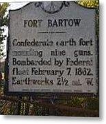 Nc-bbb2 Fort Bartow Metal Print