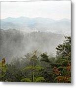 Nc Smokey Mountains Metal Print