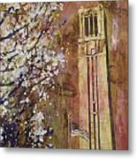 Ncsu Bell Tower Metal Print