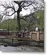 Near Entrance To Hindu Temple Of Mattan Metal Print